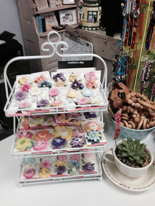 Pretty in Posies Clips at Mother and Baby Source