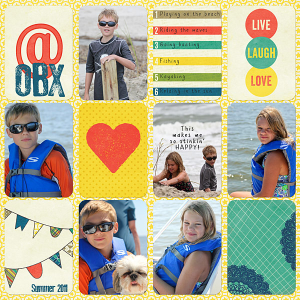 Digital Project Life Azure Edition Jenn McCabe