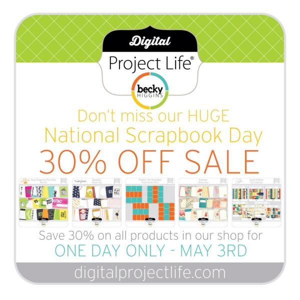 iNSD digital project life sale