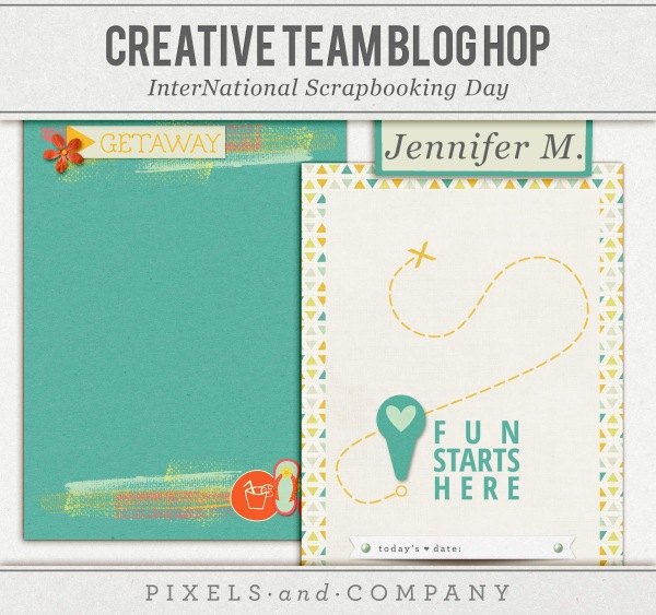 Pixel & Co Journal Cards Freebie Jenn McCabe