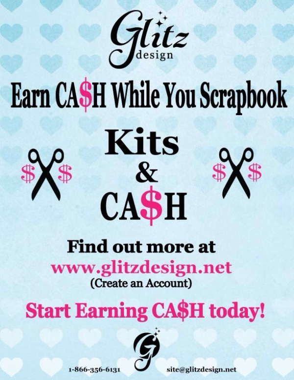 Glitz Design Kits and Cash Promotion